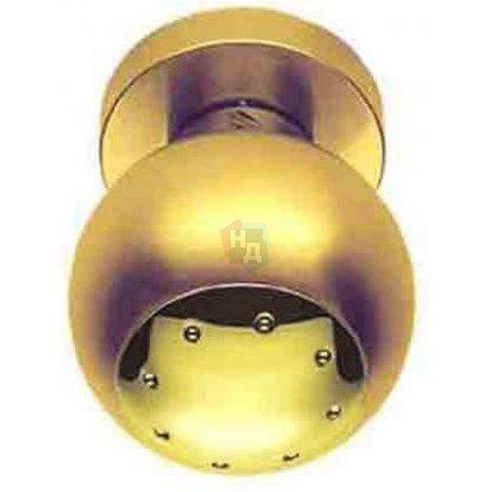 Дверная ручка Colombo Design Tank PF 25 Латунь полированная/Золото матовое