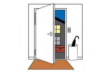 Сторонность двери: правая или левая? Как определить.