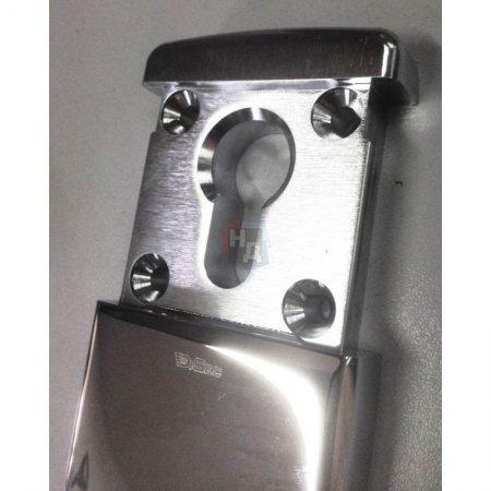 Броненакладка накладная магнитная DiSec MG 320 хром полированный