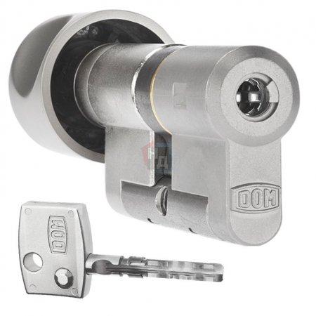 Цилиндр Dom Diamant 64 (32x32T) ключ-тумблер никель