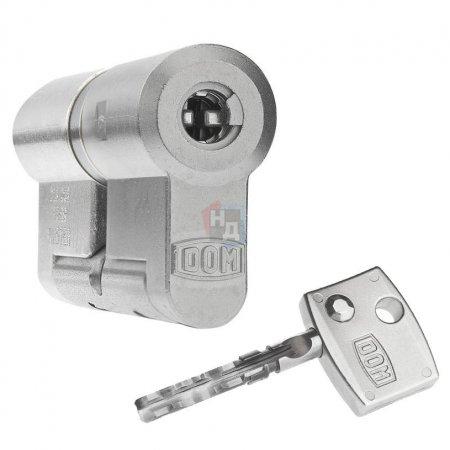 Цилиндр Dom Diamant 89 (57x32) ключ-ключ никель