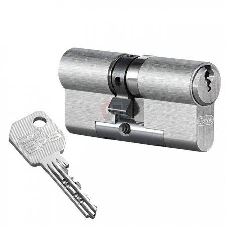 Цилиндр Evva EPS 62 (31x31) ключ-ключ никель