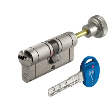 Цилиндр Mottura Champions PRO 62 (31x31T) ключ-шток хром