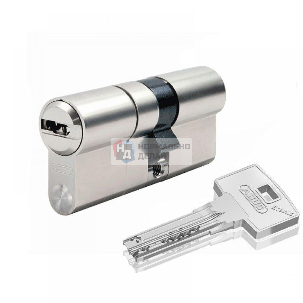 Цилиндр Abus Bravus 1000 MX 80 (45x35) ключ-ключ никель