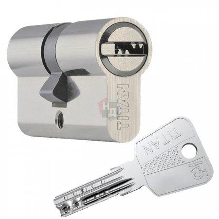 Цилиндр Titan K5 60 (30x30) ключ-ключ никель