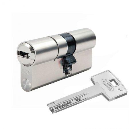 Цилиндр Abus Vela 1000 60 (30x30) ключ-ключ никель
