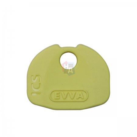 Декоративная накладка на ключ Evva ICS желтый