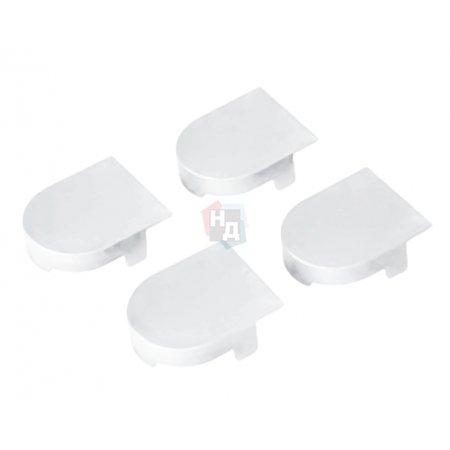 Комплект колпачков для петли Eclipse AGB белый (E30200.11.91)