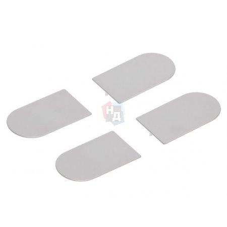 Комплект колпачков для петли Eclipse 3.0 AGB хром матовый (E30200.12.34)