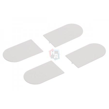 Комплект колпачков AGB для петли Eclipse 3.0 белый (E30200.12.91)
