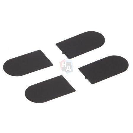 Комплект колпачков для петли Eclipse 3.0 AGB черный (E30200.12.93)