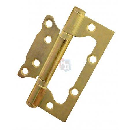 Петля дверная накладная USK 100*63*2.5-2BB PB полированная латунь