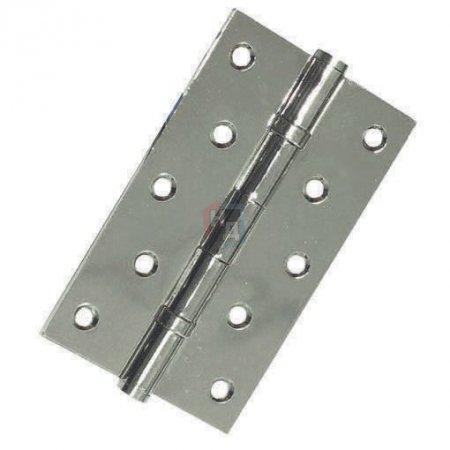 Петля дверная врезная USK 125*75*2.5-2BB BN шлифованый никель