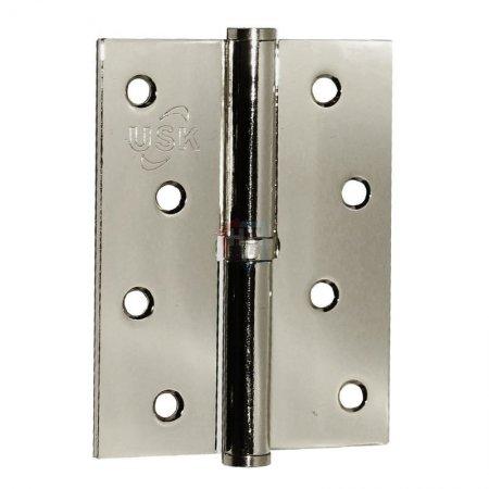 Петля дверная врезная USK 100*75*2.5-1BB BN шлифованый никель (L/R)