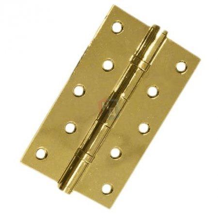 Петля дверная врезная USK 125*75*2.5-2BB PB полированная латунь