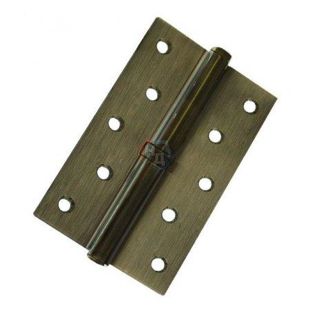 Петля дверная врезная USK 125*75*2.5-1BB AB античная бронза (L/R)