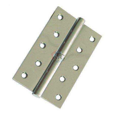 Петля дверная врезная USK 125*75*2.5-1BB BN шлифованый никель (L/R)