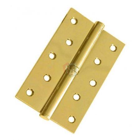 Петля дверная врезная USK 125*75*2.5-1BB PB полированная латунь (L/R)
