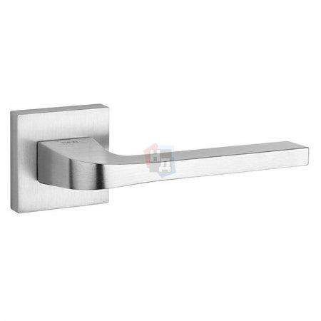 Дверная ручка Tupai Supra 3097 5SQ-96 хром матовый