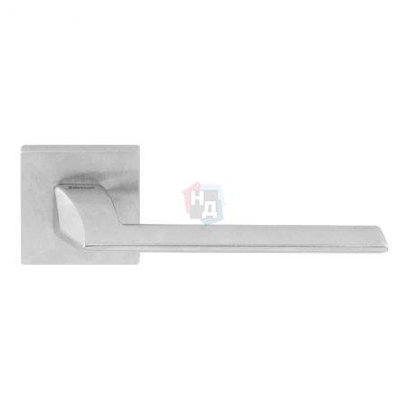 Дверная ручка Fimet Pura 1352-211B F05 матовый хром