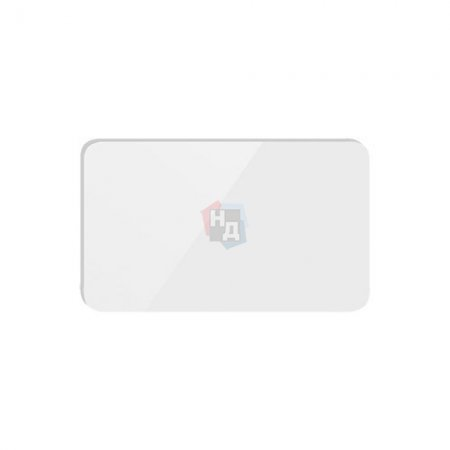 Декоративная вставка M&T 000771 для WC накладки Maximal стекло белое