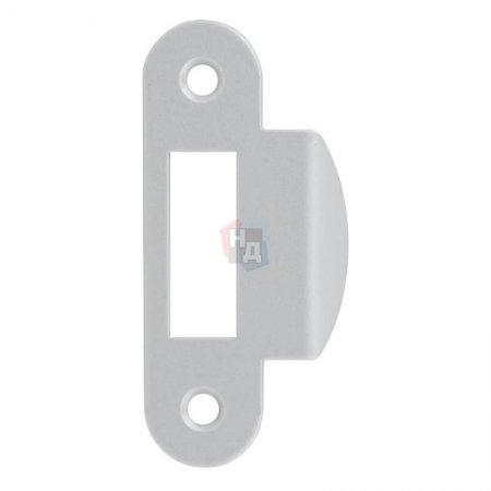 Ответная планка AGB под Mediana Evolution / Centro WC с загнутым отбойником сатин хром (B010001341)